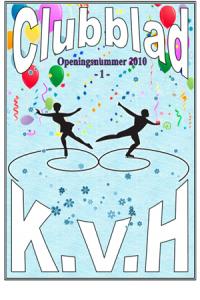 KVH Clubblad van 10 oktober 2010
